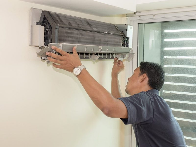 The efficient air conditioning system